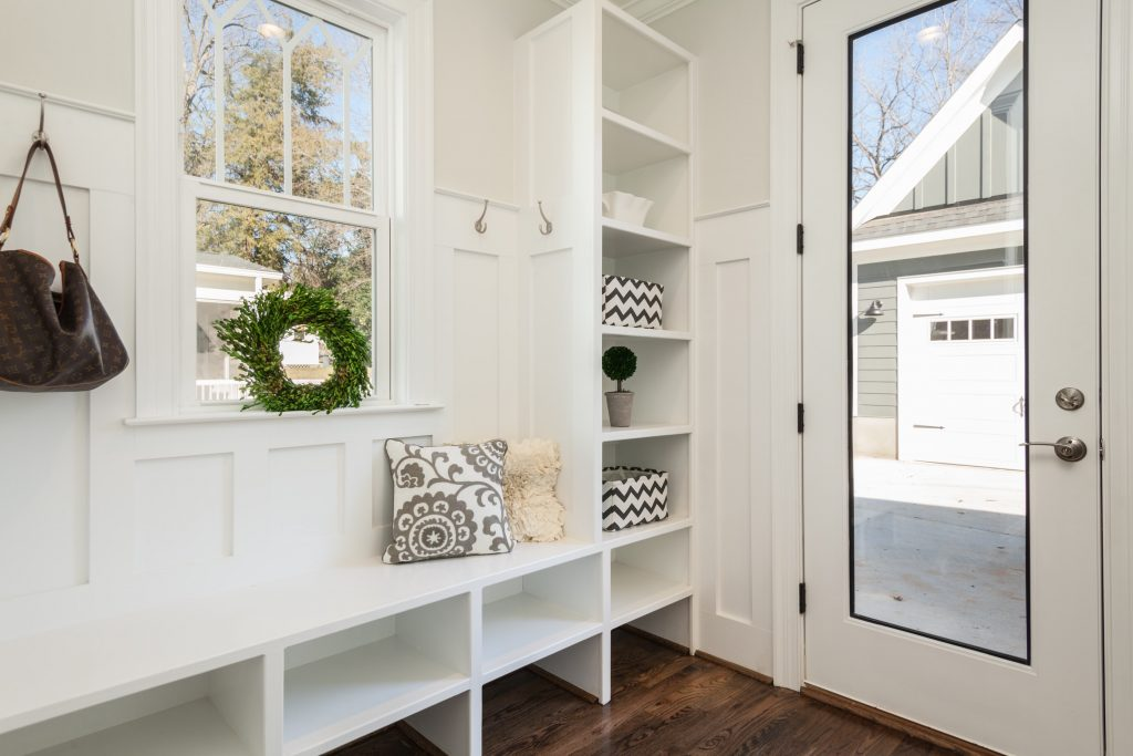 using clever storage to create a calm home environment