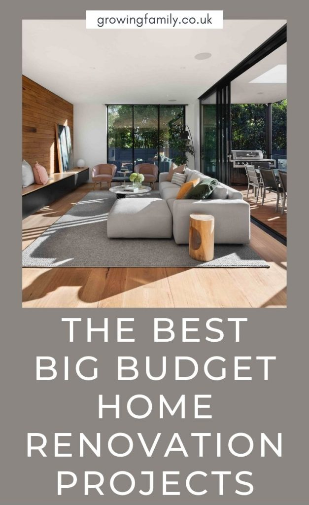 Looking to add value to your home? These big budget home improvement projects will deliver on your investment and appeal to buyers too.