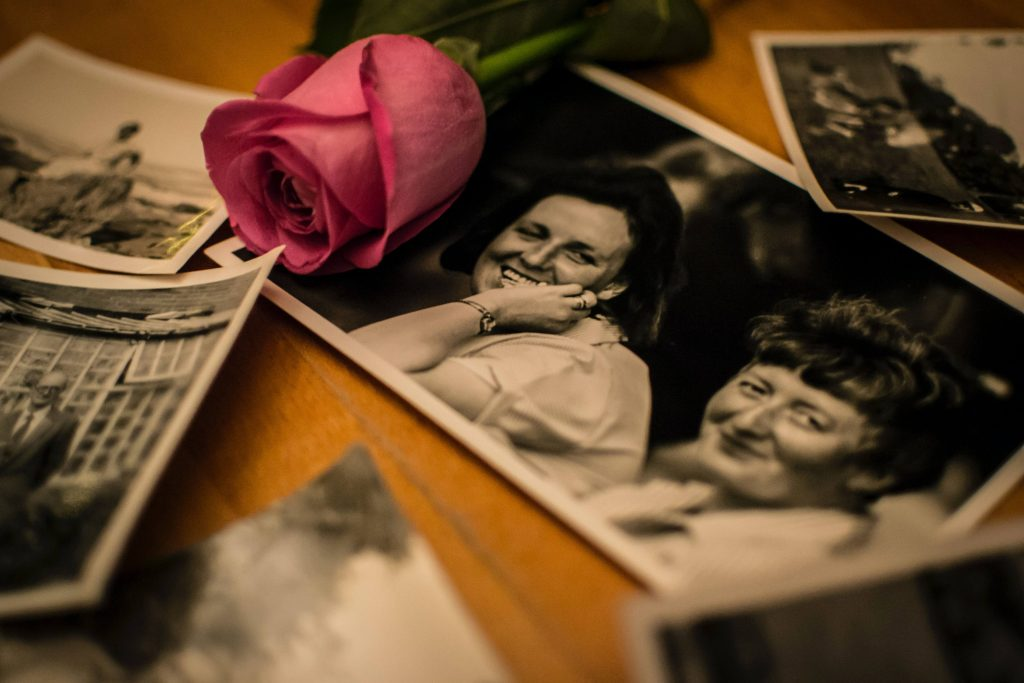 black and white photos for a family tree
