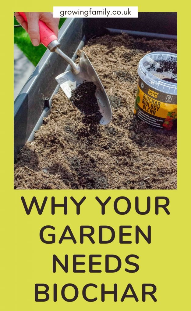 Improving the health of my garden soil, my plants, and the planet with the Carbon Gold range of biochar composts and soil improvers.
