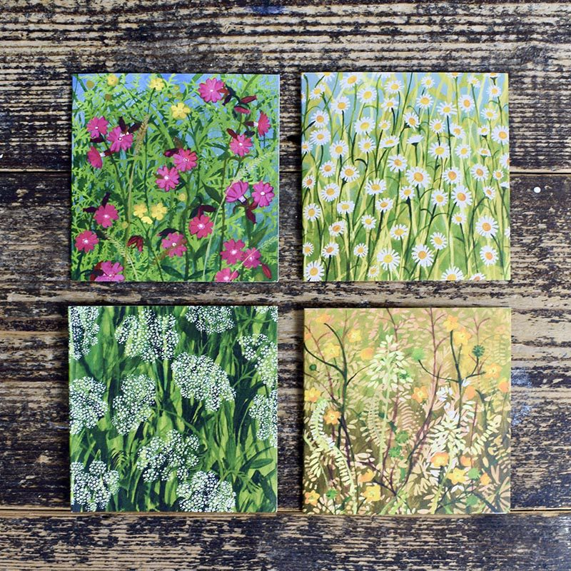 driftwood designs botanical note cards