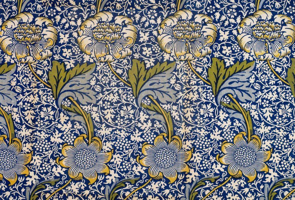 william morris floral design