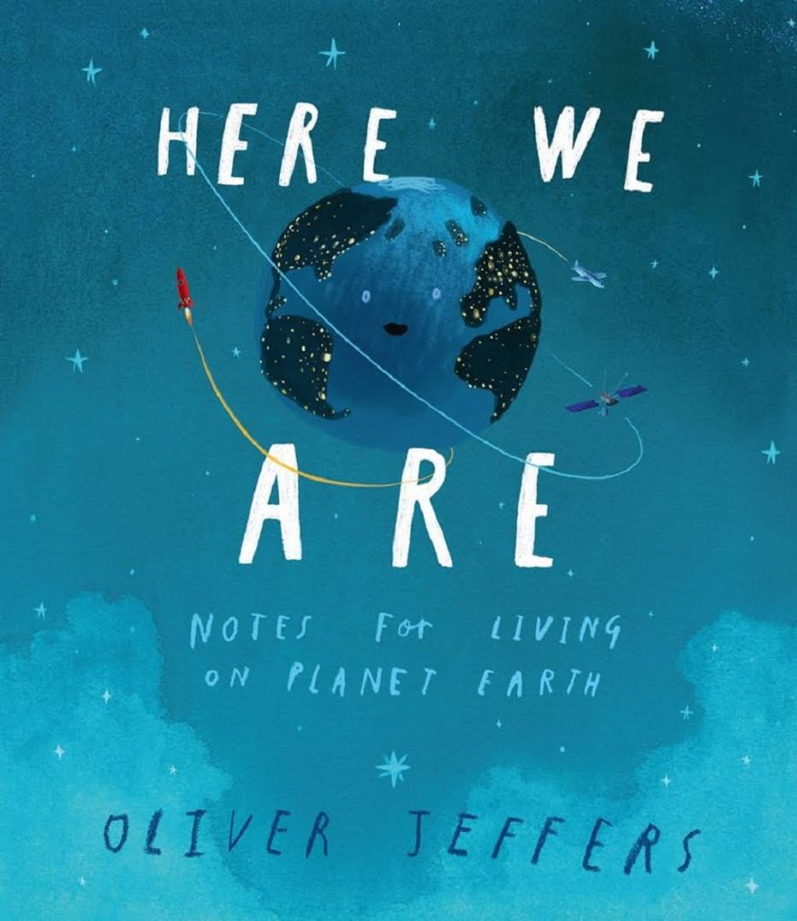 here we are oliver jeffers