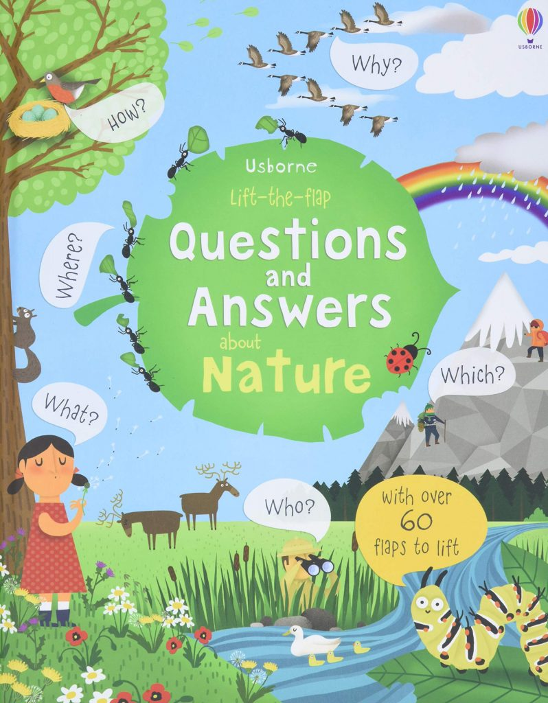 questions and answers about nature book for kids