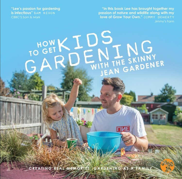how to get kids gardening book