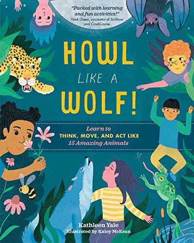 nature books for kids - howl like a wolf!