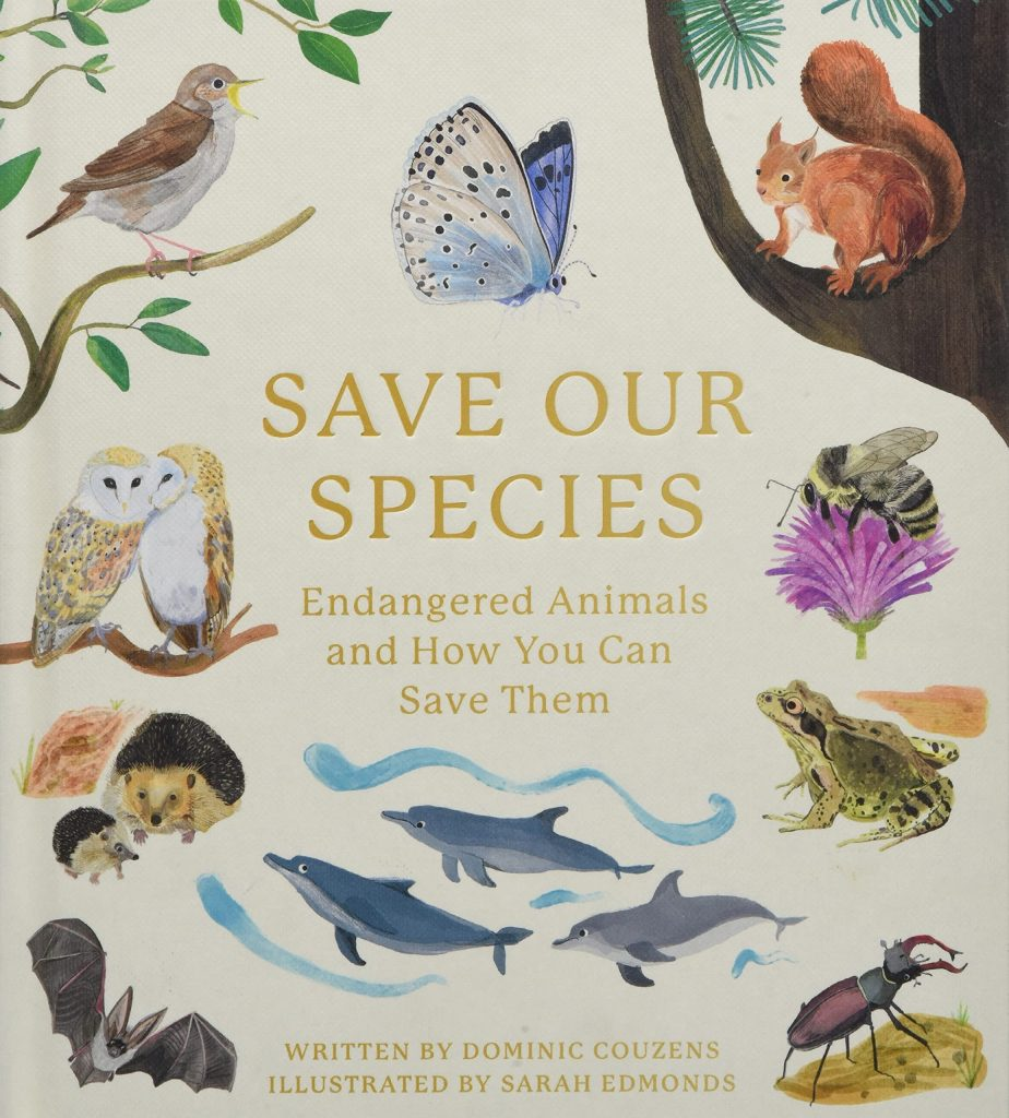 save our species nature books for kids
