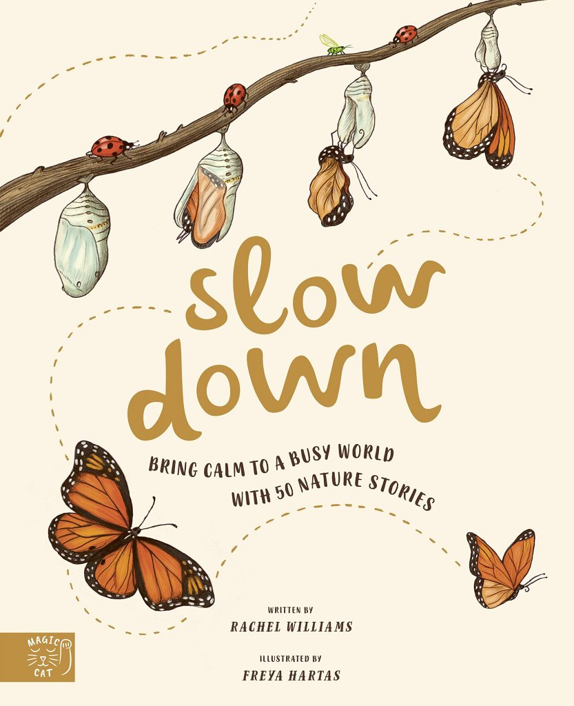 nature books for kids - slow down by rachel williams