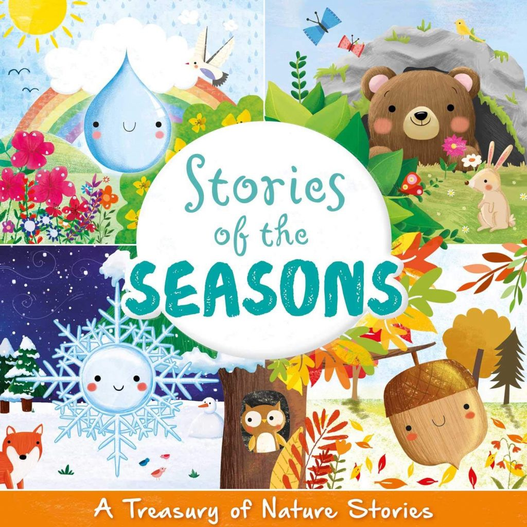 nature books for kids - stories of the seasons